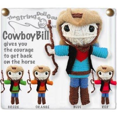 Kamibashi Cowboy String Doll Keychain