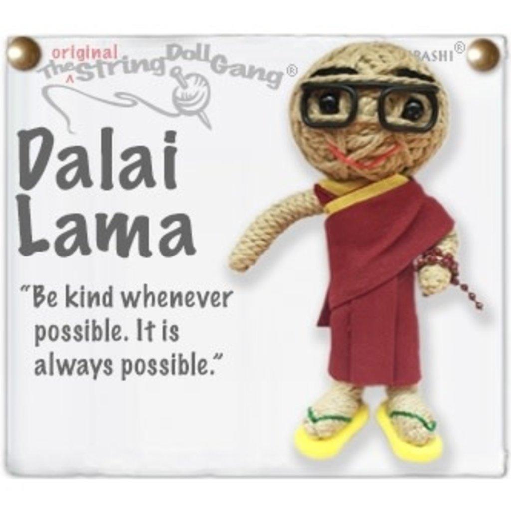 Kamibashi Dalai Lama String Doll Keychain