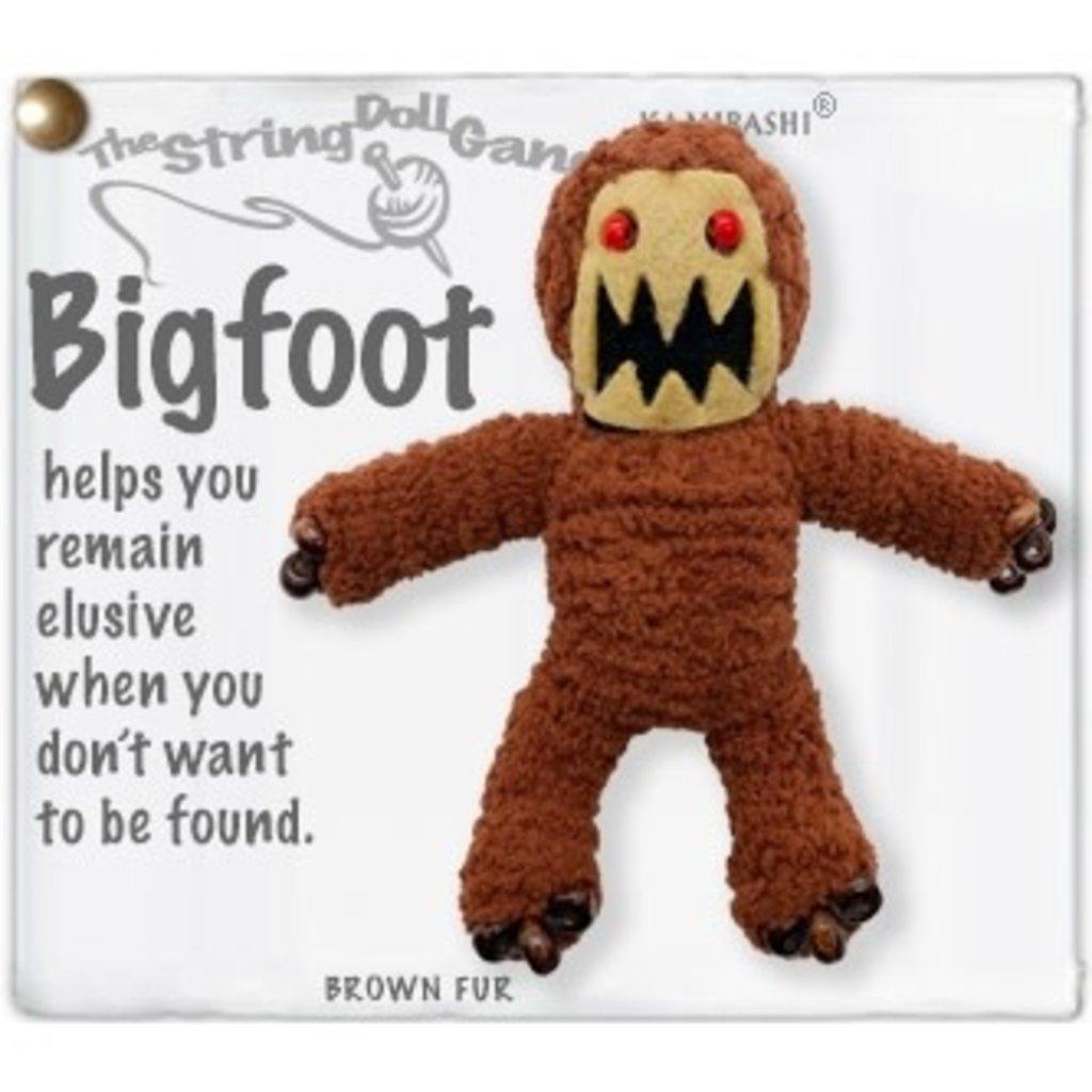 Kamibashi Bigfoot String Doll Keychain
