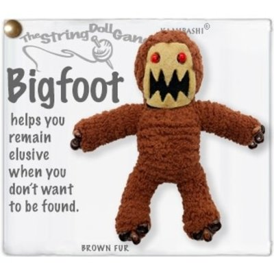 Kamibashi Bigfoot String Doll Keychain