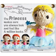 Kamibashi Princess String Doll Keychain