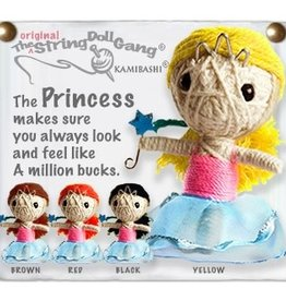 Kamibashi Princess String Doll Keychain