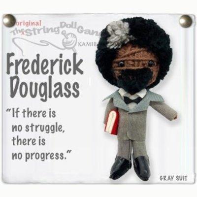 Kamibashi Frederick Douglass String Doll Keychain