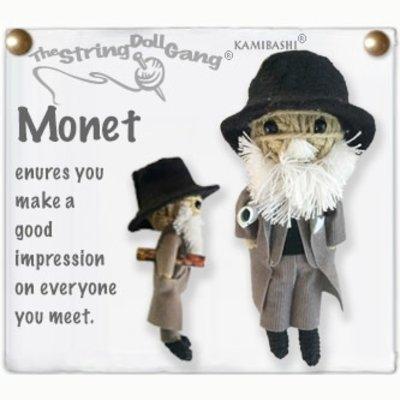 Kamibashi Monet String Doll Keychain