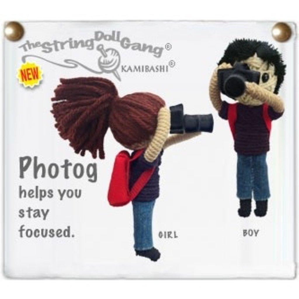 Kamibashi Photog string doll keychain