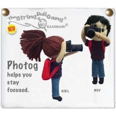 Kamibashi Photog string doll keychain