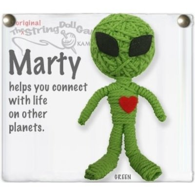 Kamibashi Marty Alien String Doll Keychain