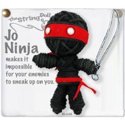 Kamibashi Jo Ninja String Doll Keychain