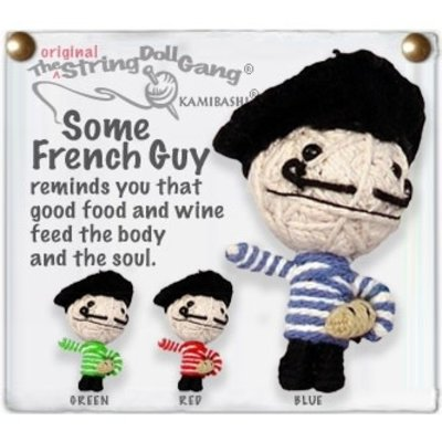 Kamibashi Some French Guy String Doll Keychain