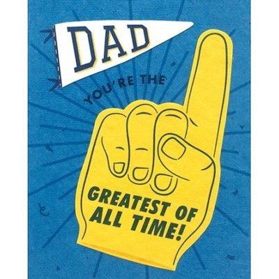 Good Paper Greatest of All Time Father's Day Card