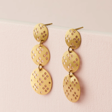 Matr Boomie Chameli Blossom Drop Earrings