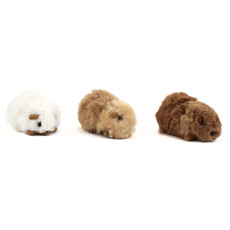 Minga Imports Alpaca Small Guinea Pig Stuffed Animal