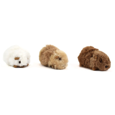 Minga Imports Alpaca Small Guinea Pig Stuffed Animal