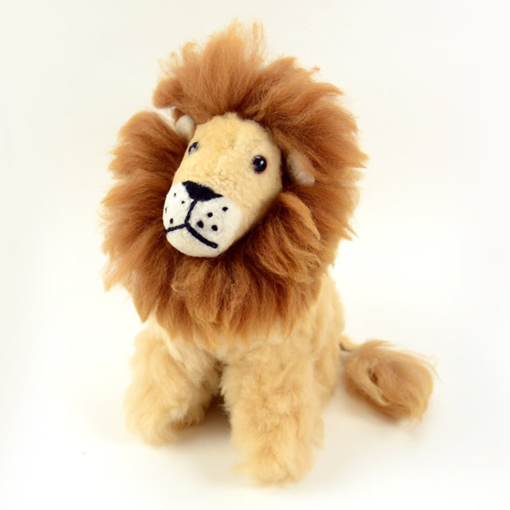 Minga Imports Alpaca Lion Stuffed Animal