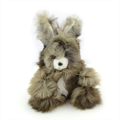 Minga Imports Alpaca Rabbit Stuffed Animal
