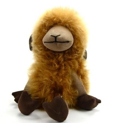 Minga Imports Alpaca Sheep Stuffed Animal