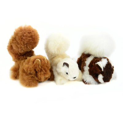 Minga Imports Alpaca Squirrel Stuffed Animal