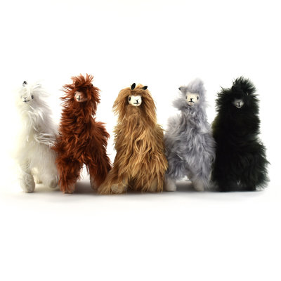 Minga Imports Alpaca Small Suri Llama Stuffed Animal