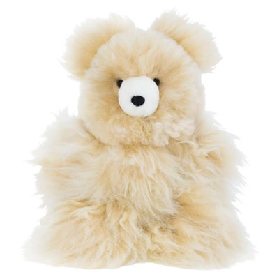 Minga Imports Alpaca Large Bear Stuffed Animal