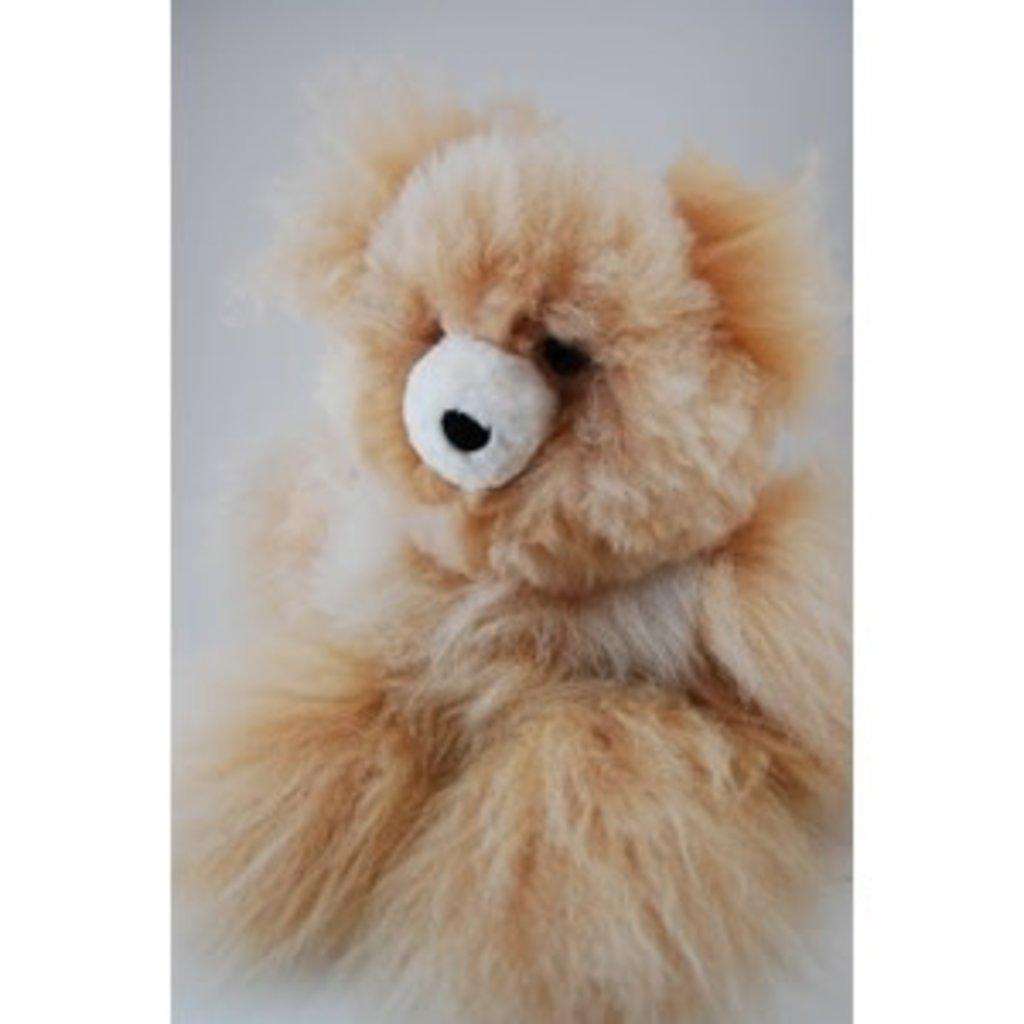 Minga Imports Alpaca Medium Bear Stuffed Animal