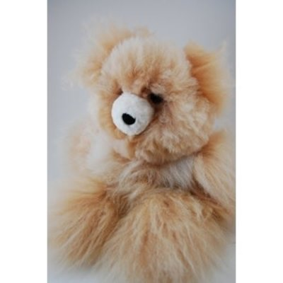 Minga Imports Alpaca Medium Bear Stuffed Animal