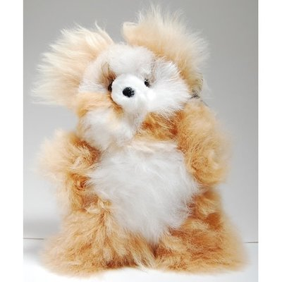Minga Imports Alpaca Small Bear Stuffed Animal