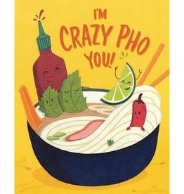 Good Paper Crazy Pho You Love Card