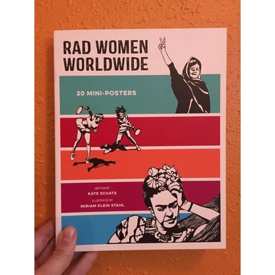 Microcosm Rad Women Worldwide: 20 Mini Posters