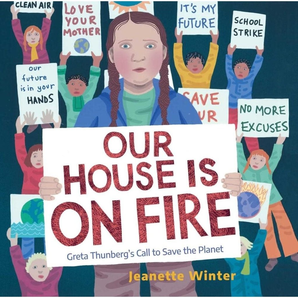 Microcosm Our House is On Fire: Greta Thunberg