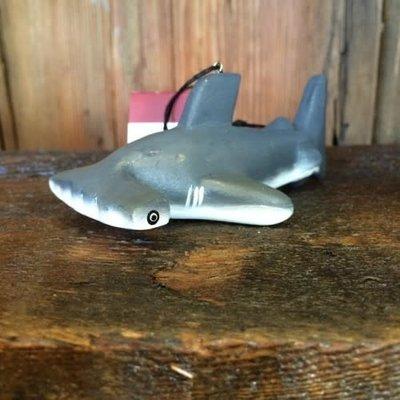 Women of the Cloud Forest Hammerhead Shark Balsa Wood Ornament
