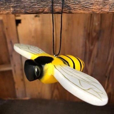 Women of the Cloud Forest Honeybee Balsa Wood Ornament