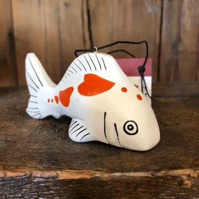 Women of the Cloud Forest Koi Balsa Wood Ornament