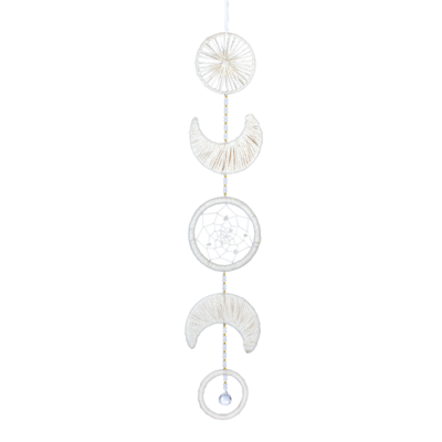DZI Handmade Little Lunar Cycle Dream Catcher