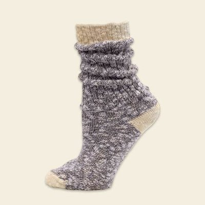 Maggie's Organics Organic Cotton Ragg Sock Purple