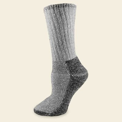 Maggie's Organics Organic Wool Killington Hiker Socks Black 10-13