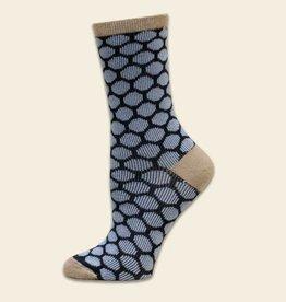Maggie's Organics Bee Keeper Trouser Socks: Navy/Blue