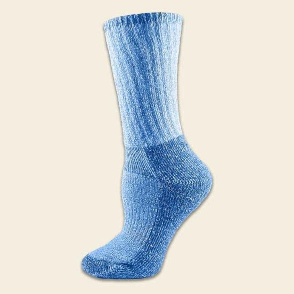 Maggie's Organics Organic Wool Killington Hiker Socks Blue