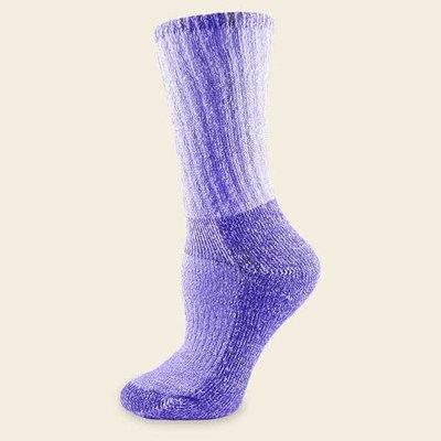 Maggie's Organics Organic Wool Killington Hiker Socks Purple