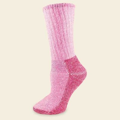 Maggie's Organics Organic Wool Killington Hiker Socks Pink