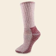 Maggie's Organics Organic Wool Killington Hiker Socks Raspberry