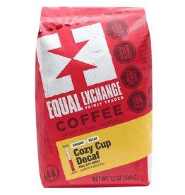 Equal Exchange Cozy Cup Decaf Coffee Drip Grind