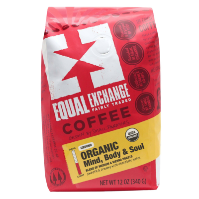 Equal Exchange Mind Body Soul Coffee Drip Grind