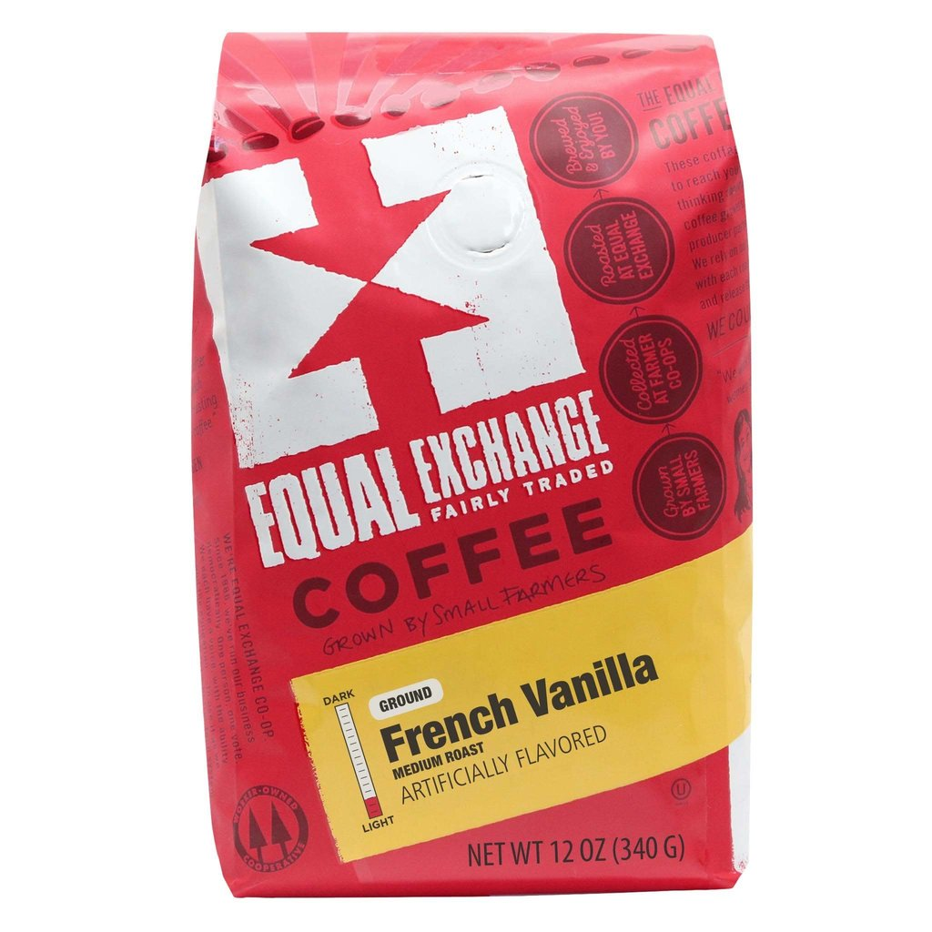 Equal Exchange French Vanilla Coffee Drip Grind