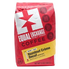 Equal Exchange Hazelnut Cream Decaf Coffee Drip Grind