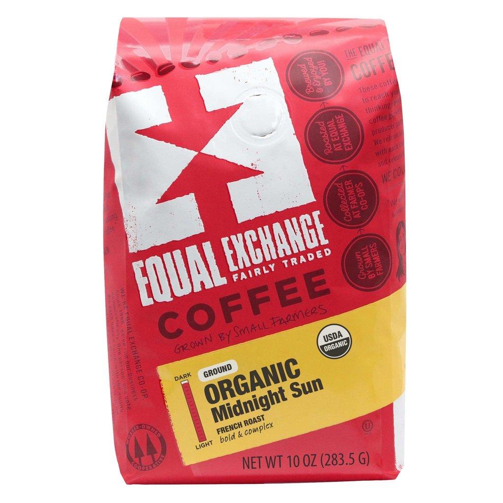Equal Exchange Midnight Sun Dark Roast Coffee Drip Grind