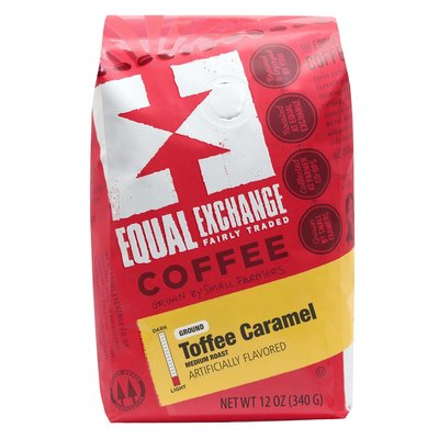 Equal Exchange Toffee Caramel Coffee Drip Grind