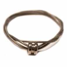 Unique Batik Guitar String Ring