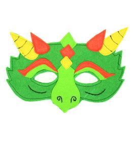 Minga Imports Felt Play Mask Dragon