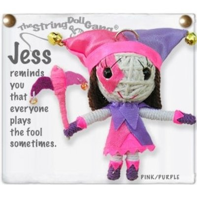Kamibashi Jess the Jester String Doll Keychain
