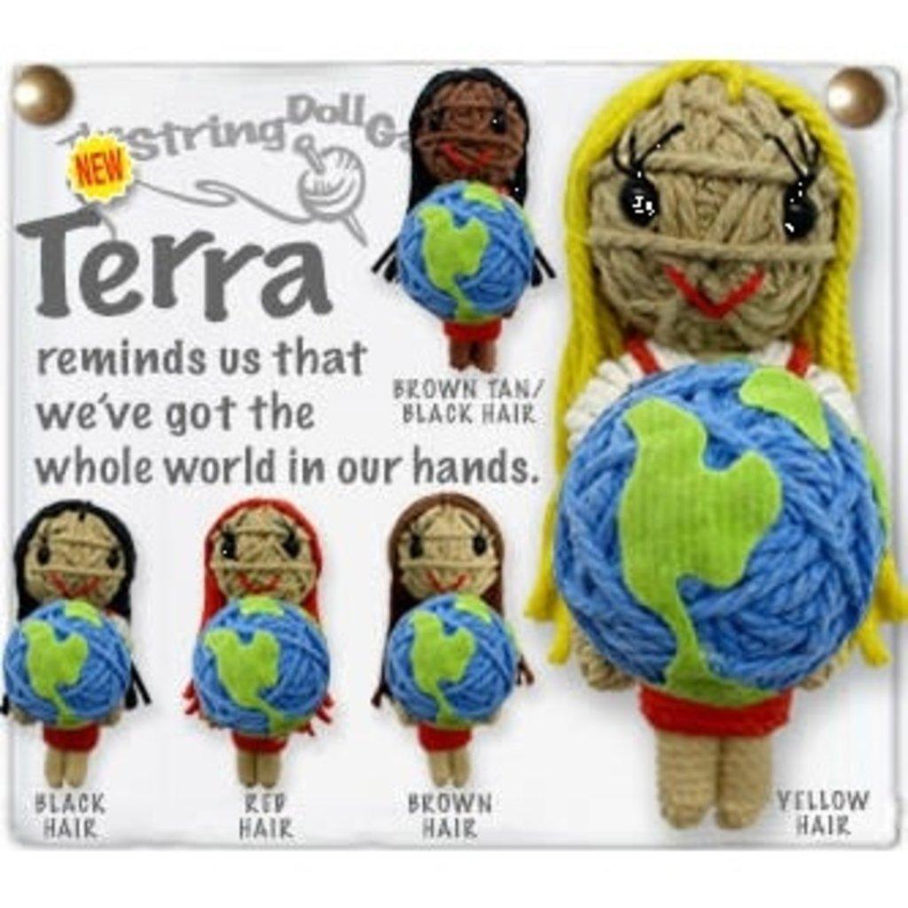 Kamibashi Terra String Doll Keychain